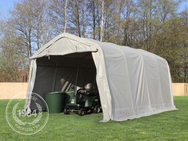 garagenzelt carport lagerzelt zelt unterstand 3 3x6 0x2 6m pvc 19 8m gr n neu ebay. Black Bedroom Furniture Sets. Home Design Ideas