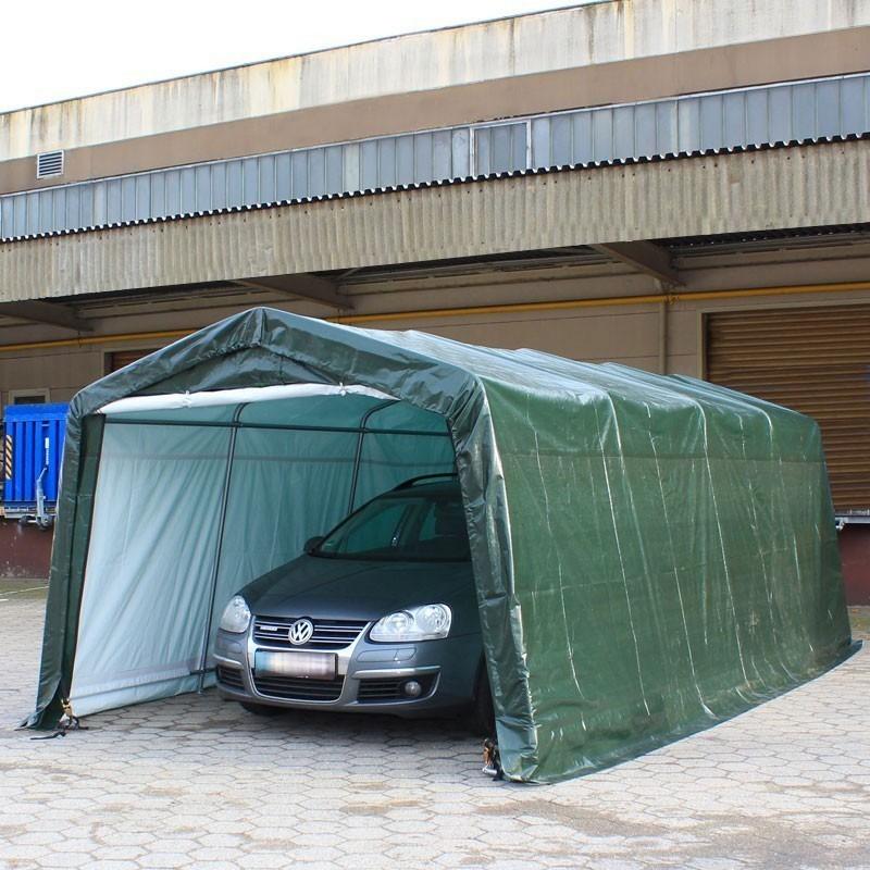 Two Car Garage Tent : Portable garage width m car tent carport shelter